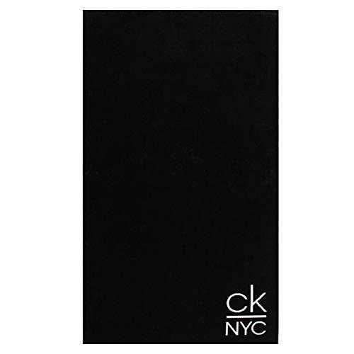 Calvin Klein Telo Mare CkNYC Nero 100 * 180 cm