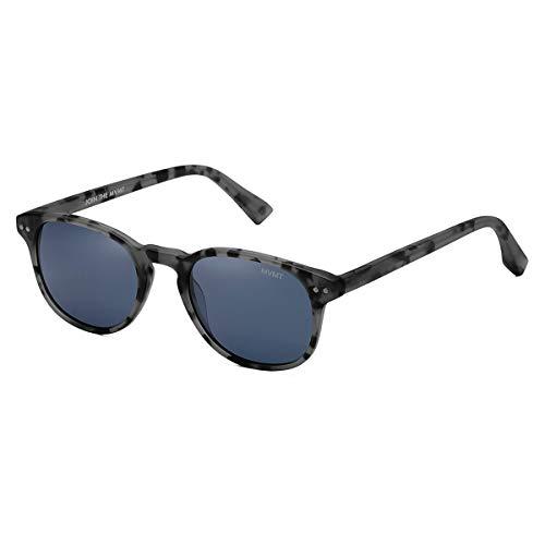 MVMT Hyde | Polarized Rectangular Women's & Men's Sunglasses | Grey Tortoise/Blue | 50 mm