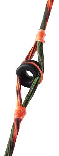 Truglo TG76C Centra Peep, Pro Series 1/4,Black