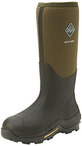 Muck Boots Arctic Sport Tall, Unisex Erwachsene Arbeits-Gummistiefel, Grün (Moss 333A), 39/40 EU (6 UK)