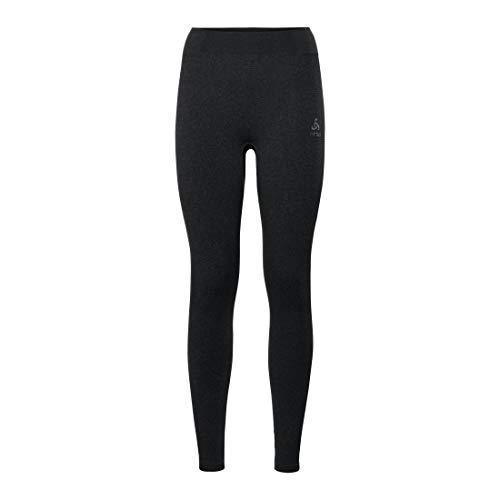 Odlo BL Bottom Long Performance Warm Pantalon Femme Black - odlo Concrete Grey FR : M (Taille Fabricant : M)