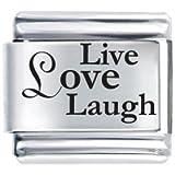 Live Love Laugh Laser Etched I...