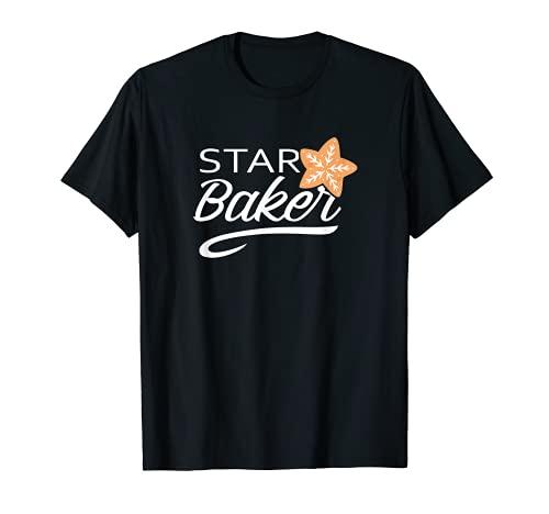 Star Baker Funny Cooking Master Brot Maker Backen Geschenk T-Shirt