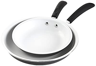 Gibson Home Hummington Ceramic Non-Stick Fry Pan Set
