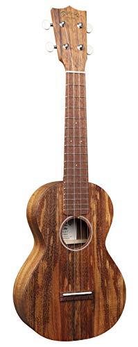 Martin Guitar C1K Acoustic Ukulele with Gig Bag, Hawaiian Koa Wood Construction, Hand-Rubbed Finish, Concert Ukulele Neck Shape with Standard Taper