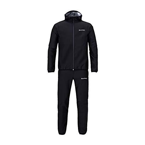 MTG シックスパッドサウナスーツ Lサイズ 黒