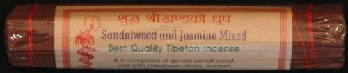 BUDDHAFIGUREN - Varillas de incienso tibetano (madera de sándalo y jazmín)
