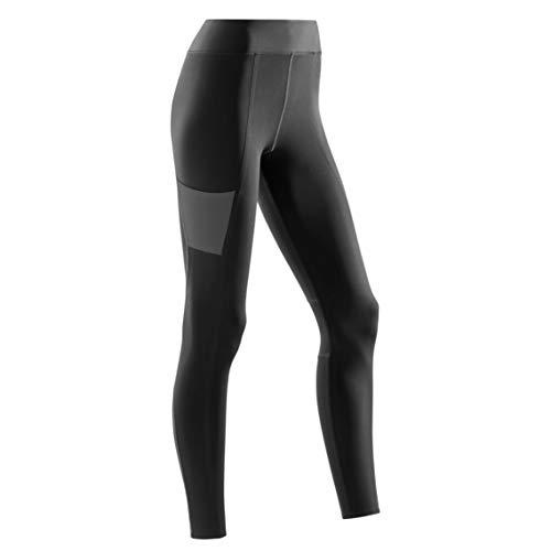 CEP – Training Tights für Damen   Lange Sporthose mit echter Kompression in schwarz   Größe XS