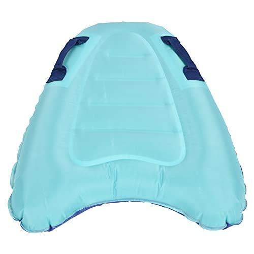 Tabla de Surf Inflable portátil para el Cuerpo, Tabla de Surf Flotante para Nadar Ligera, Tabla de Surf para Nadar Flotante para niños y Adultos(Azul)