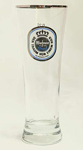 Warsteiner - Bicchieri da birra senza alcol, 0,2 l, Premium Fresh, bicchieri da birra, bicchieri da birra, bordi argentati, birra, gastro, bar, collezione, set da 4 pezzi