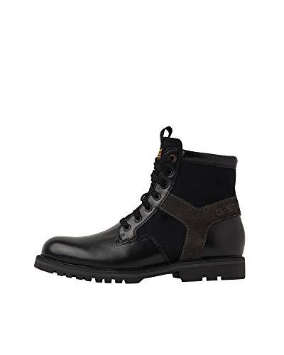 G-STAR RAW Mens Powell II Ankle Boot, Black C508-990, 41 EU