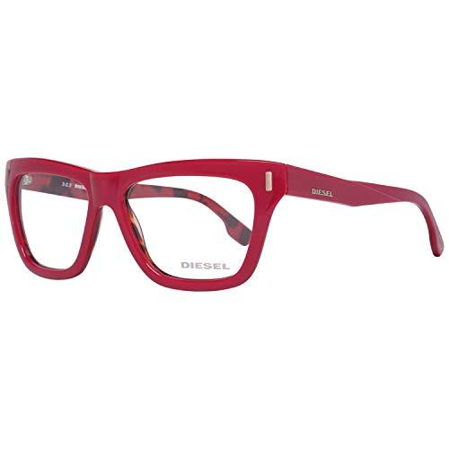 Diesel Brillengestelle DL5044 52077 Rechteckig Brillengestelle 52, Pink