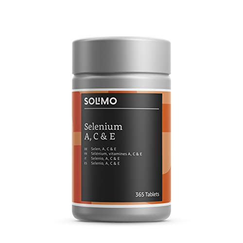 Solimo Selenium with Vitamins A, C and E Food Supplement, 365 Tablets