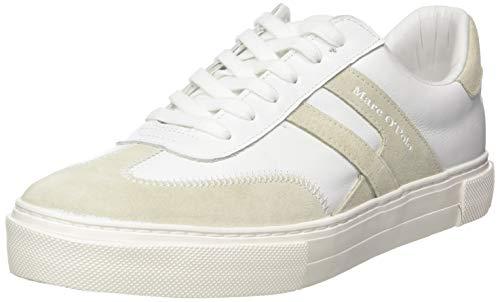 Marc O'Polo Herren 00225563503100 Sneaker, Weiß (Offwhite 110), 42 EU