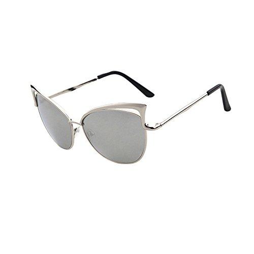 ZODOF Gafas de Sol Lentes Transparentes Gafas Metal Espectáculo Marco Miopía Gafas Gafas de Sol para Mujer y Hombre Unisex
