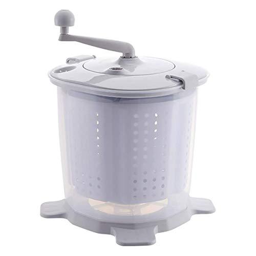 GXLO Manuelle Waschmaschine Tragbare Handbetriebene Handcranking Mini Washer Nichtelektrische für Camping Dorms Apartments College-Zimmer,B