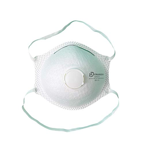 Máscara FFP3 Mascarilla protectora antivaho Protector bucal Respirador Anti contaminación Alta filtración 99% Stock disponible CDP3011 10PCS