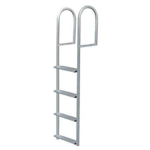 7 Step Stationary Ladder, Aluminum - Jif Marine