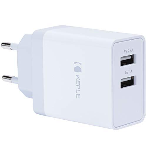 Lader 2 USB-oplader 2-poorts stekker Compatibel met JBL Flip 2 / Flip 3 / Charge/Charge 2 / Charge 2+ (JBL Charge II PLUS) / Charge 3 / Pulse/Pulse 2 | Oplaadadapter voor op reis
