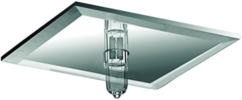 985.34 Paulmann Sternenhimmel Star EBL Set quadratisch 10x10W 105VA 230 12V G4 63mm Spiegel Silber Metall Glas