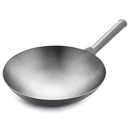 JUUY Frying Pan Pan Titanium Pan Pan no Palo Sin bastón Inducción...