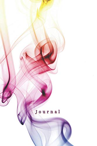 Journal (Colorful Smoke) (6' x 9' Notebook)