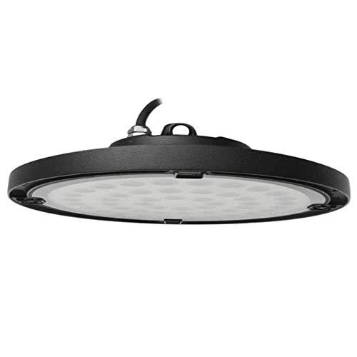FactorLED Campana industrial LED UFO 100W Chip OSRAM 2835-2D 130lm/w Iluminación lampara ideal para naves industriales, IP65 Exterior, No flick, 5 años de Garantía (Luz Fría (6000K))