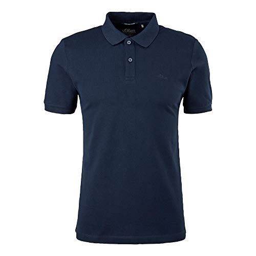 s.Oliver Herren T-Shirt dark blue XXL