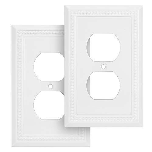 Harmon Designs - Placa para interruptor de pared, diseño de perlas hundidas
