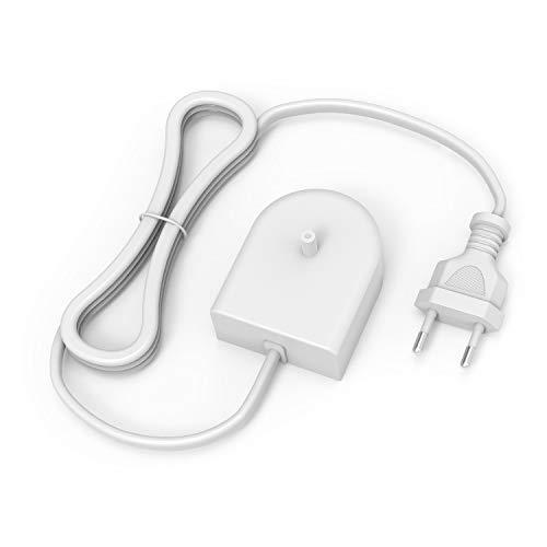 NEW POW Elektrische Zahnbürste Ladegerät HX6100 Ersatz Ladestation passend für Philips Sonicare Elektrische Zahnbürste Flosser, HX3000/ HX6000/ HX8000/ HX9000 Serie Tragbares wasserdichtes Netzkabel