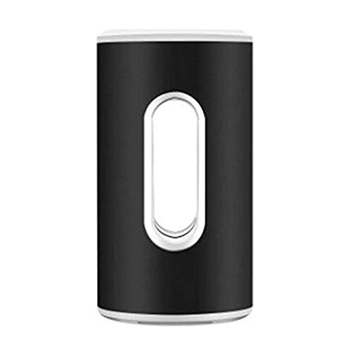 Yyqtxdq Luftreiniger Ultra Quiet beweglichen Ozon-Luft-Sterilisator-USB-Mini-stilvolle Super Energy Efficient Mit Licht for Auto (Color : Black)