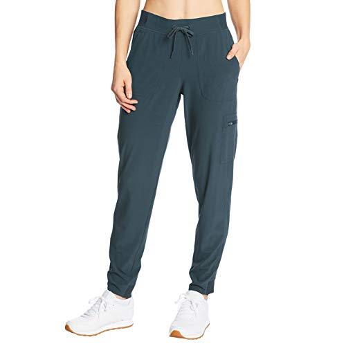 C9 Champion Women's Woven Training Pants, Trekking Gray, M