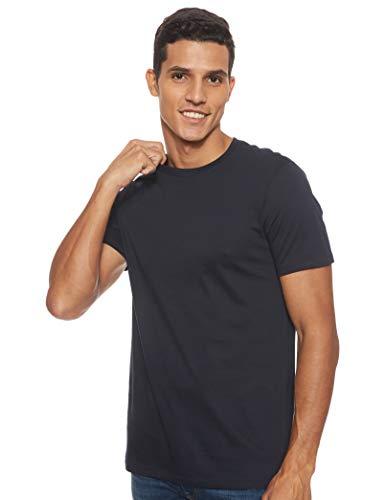 ARMANI EXCHANGE Pima Small Logo T-Shirt, Blu (Navy 1510), Large Uomo