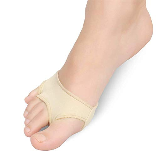 dfff 2 Pairs Toe Separator Foot Gel Forefoot Metatarsal Pain Relief Absorber Cushion Ball Of Foot Pad,S