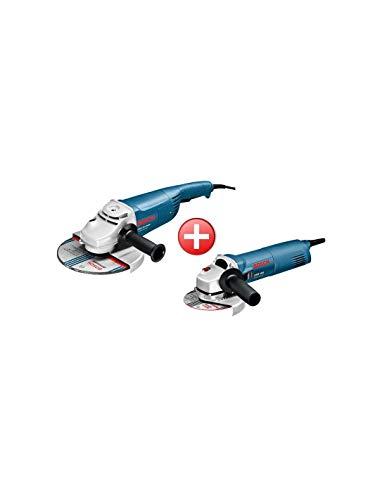 Bosch 0615990EJ0 Kit 2 en 1 Amoladora angular GWS 20-230 H + GWS 1400