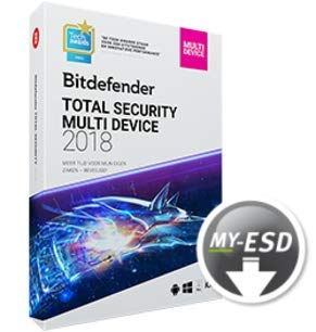 Bitdefender Total Security 2019 | 3 Appareils | 1 An | ESD | Télécharger | Email