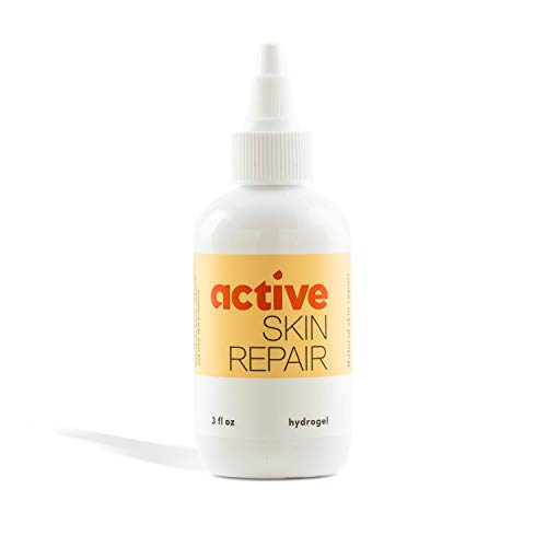 Active Skin Repair Hydrogel – The Natural & Non-Toxic Healing Ointment & Antiseptic Gel for Minor Cuts, Wounds, Scrapes, Rashes, Sunburns, and Other Skin Irritations (Single, 3 oz Gel)