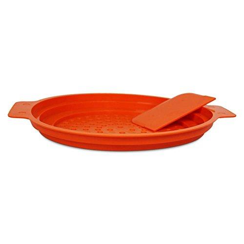 Spätzlesieb mit Schaber und Anleitung Spätzle-Profi Gourmet, Farbe: Orange