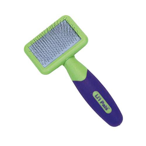Coastal Pet - Li'l Pals - Dog Slicker Brush with Coated Tips - Dog Grooming Supplies