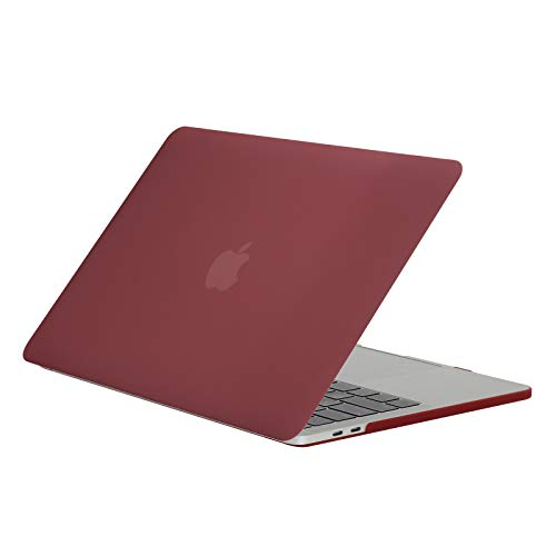 Matte harde shell compatibel met MacBook Pro 13 Case marmer plastic mat case marine patroon voor MacBook Pro 13 inch laptophoes transparante notebook Pro 13 Cover roze waterdichte laptop accessoires