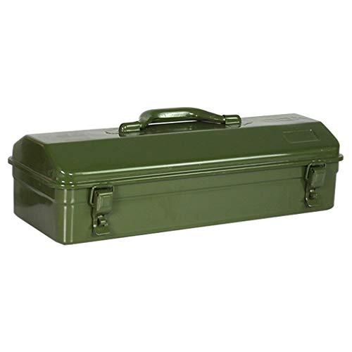 Caja de Herramientas Multiusos Caja de herramientas Engrosamiento portátil Caja de herramientas duradera de hierro forjado for almacenamiento y transporte de piezas de herramientas maletin de herramie