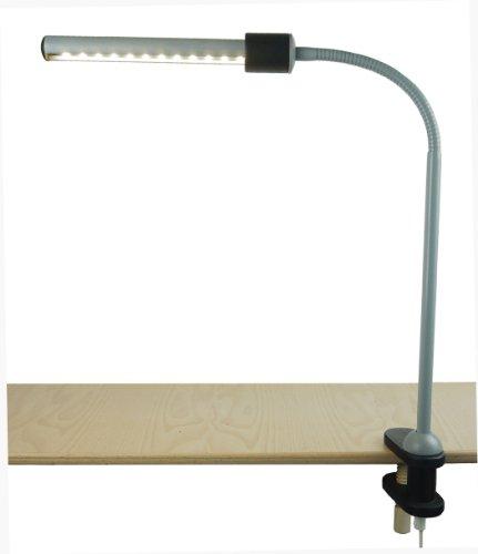 Niermann Standby LED Klemmleuchte, grau-schwarz 240