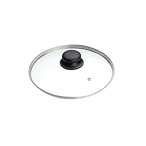 Les Colis Noirs LCN - Couvercle en Verre 22cm - Casserole Poêle Accessoire Cuisine - 120