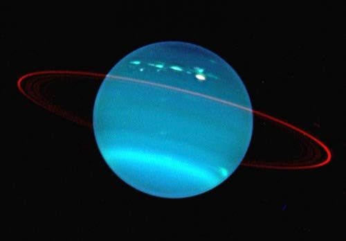 ConversationPrints Uranus Planet Glossy Poster Picture Photo Print Solar...