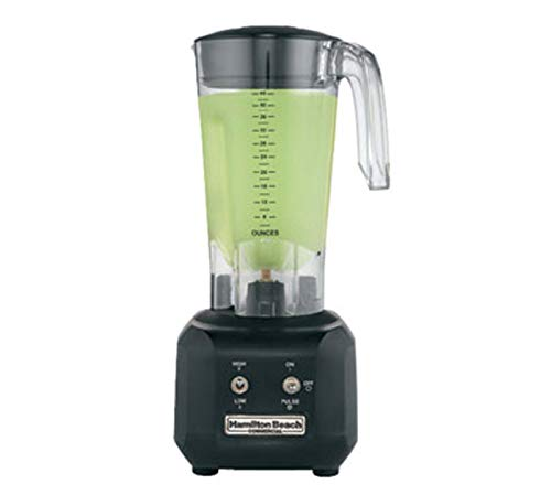 Hamilton Beach Commercial HBB250-CE Rio Bar Blender, negro/transparente