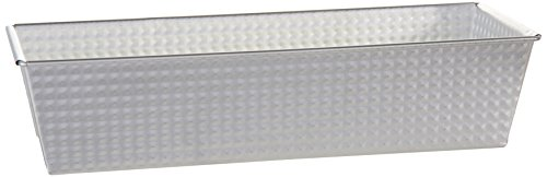 Zenker Tin Plated Steel Loaf Pan, 12-Inch x 4.4-Inch x 2.8-Inch