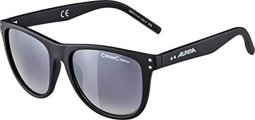 ALPINA Erwachsene Ranom Sonnenbrille, Black matt, One Size