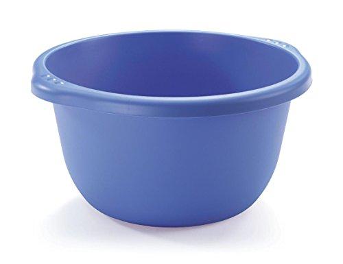 Bacinella Rotonda in plastica per bucato (cm 30) con Maniglie Ideale per la Vostra Lavanderia