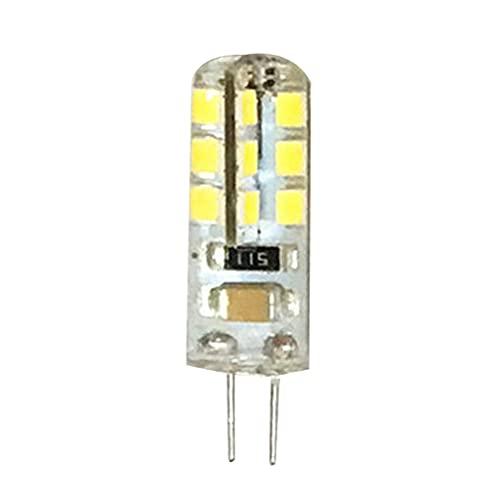 Gazechimp Luz Diurna Halógena de Repuesto para Bombilla de Maíz G4 24 LED para Iluminación de Techo