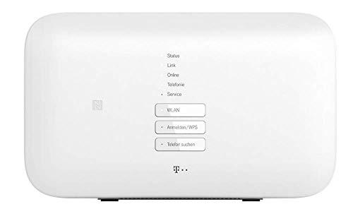 Telekom Speedport Smart 3 in Weiß | Basis für WLAN-Mesh, Magenta SmartHome integriert, schnelles WLAN mit bis zu 2500 Mbit/s und verbesserter Reichweite, für MagentaTV